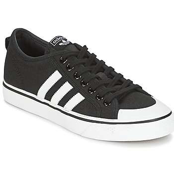Shoes Low top trainers adidas Originals NIZZA Black