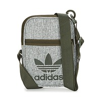 Bags Pouches / Clutches adidas Originals FESTIVAL BAG Grey / Black