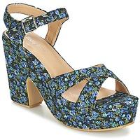 Shoes Women Sandals Moony Mood INADA Blue