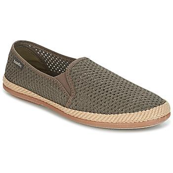Shoes Men Slip ons Bamba By Victoria COPETE ELASTICO REJILLA TRENZA Taupe