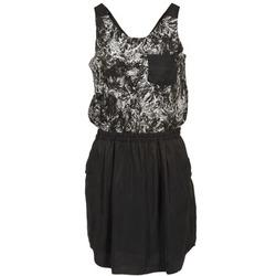 material Women Short Dresses School Rag ROXANA Black