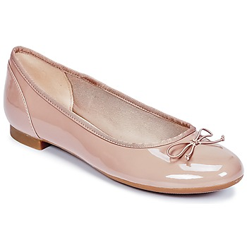 Shoes Women Ballerinas Clarks COUTURE BLOOM Nude
