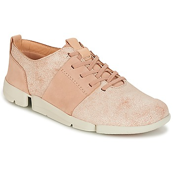 Shoes Women Low top trainers Clarks TRI CAITLIN Pink