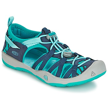 Shoes Girl Sports sandals Keen MOXIE SANDAL Blue