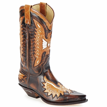 Shoes Men Boots Sendra boots CHELY Brown