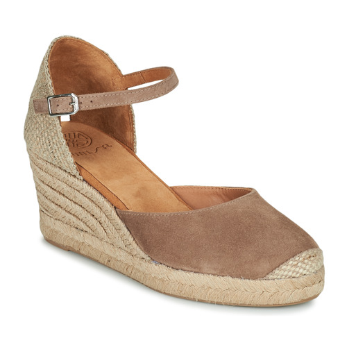 Shoes Women Sandals Unisa CARCERES Taupe