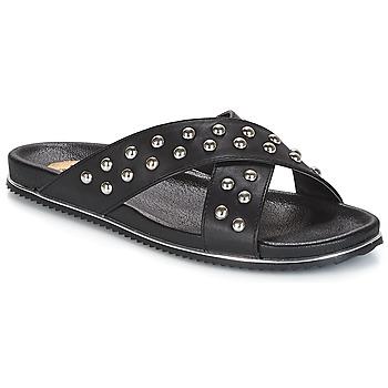 Shoes Women Mules Buffalo ALOLAJEP Black