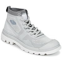 Shoes Women Mid boots Palladium PAMPA HI LITE K Grey