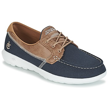 Shoes Women Boat shoes Skechers GO WALK LITE Marine