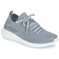 Shoes Women Fitness / Training Skechers ULTRA FLEX Grey
