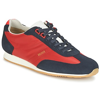 Shoes Men Low top trainers Hugo Boss Orange ORLANDO LOW PROFILE Red / Marine