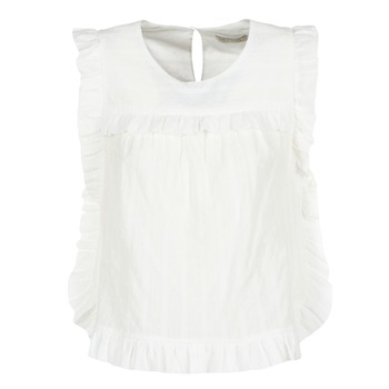 material Women Blouses See U Soon 8111036 White