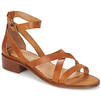 Shoes Women Sandals Casual Attitude COUTIL Brown