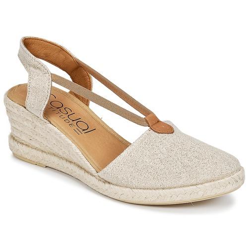 Shoes Women Sandals Casual Attitude IPOP Gold