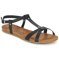 Shoes Women Sandals Casual Attitude IPLEM Black