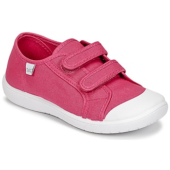 Shoes Girl Low top trainers Citrouille et Compagnie GLASSIA Fuschia