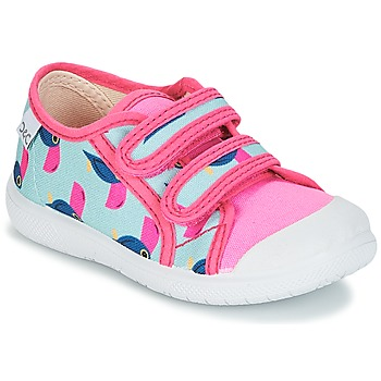 Shoes Girl Low top trainers Citrouille et Compagnie GLASSIA Multicoloured