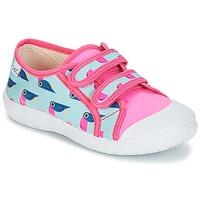 Shoes Girl Low top trainers Citrouille et Compagnie GLASSIA Multicoloured