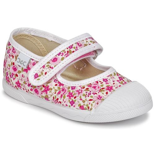 Shoes Girl Low top trainers Citrouille et Compagnie APSUT Pink