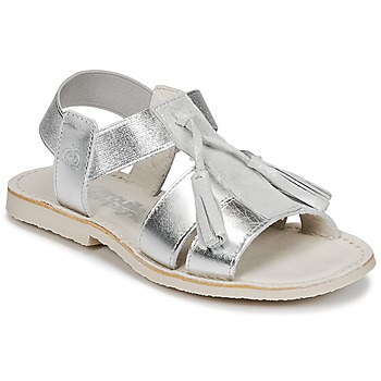 Shoes Girl Sandals Citrouille et Compagnie INAPLATA Silver