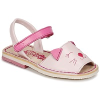 Shoes Girl Sandals Citrouille et Compagnie ILOUDFI Pink