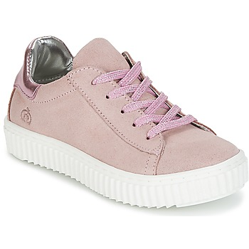 Shoes Girl Low top trainers Citrouille et Compagnie IPOGUIBA Pink