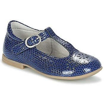 Shoes Girl Ballerinas Citrouille et Compagnie IZALTON Blue