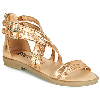 Shoes Girl Sandals Citrouille et Compagnie IMOURAT Gold