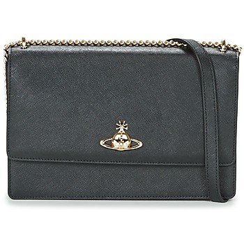 Bags Women Shoulder bags Vivienne Westwood PIMLICO Black / Blue