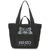 Bags Women Shopper bags Kenzo KANVAS TIGER TOTE LARGE Black