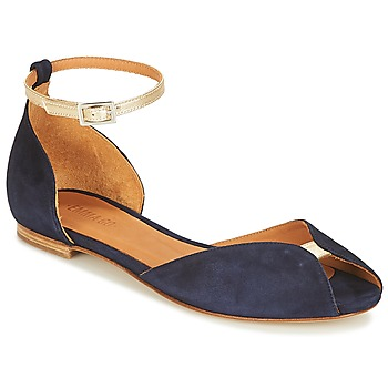 Shoes Women Sandals Emma Go JULIETTE Marine / Gold