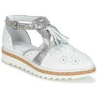 Shoes Women Derby shoes Regard RASTANU White / Silver