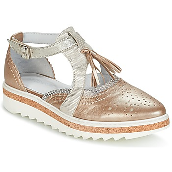 Shoes Women Derby shoes Regard RASTANU Bronze