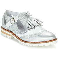 Shoes Women Derby shoes Regard RETAZO White / Silver