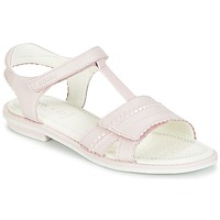 Shoes Girl Sandals Geox J S.GIGLIO A Pink