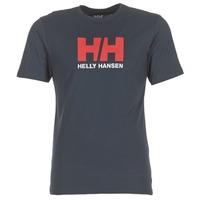 material Men short-sleeved t-shirts Helly Hansen HH LOGO Marine