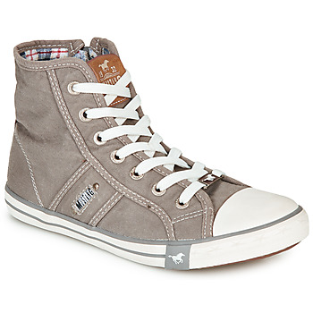 Shoes Women High top trainers Mustang GALLEGO Grey