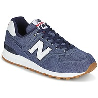 Shoes Low top trainers New Balance ML574 Indigo