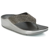 Shoes Women Mules FitFlop CRYSTALL Pewter