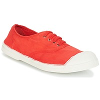 Shoes Women Low top trainers Bensimon TENNIS LACET Red