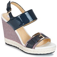 Shoes Women Sandals Geox JANIRA E Marine