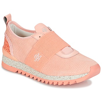 Shoes Women Low top trainers Marc O'Polo GARIS Pink / Beige