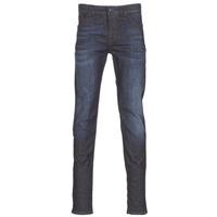 material Men slim jeans Sisley FLAGADU Blue / Dark