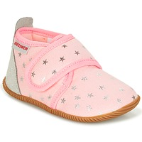 Shoes Girl Slippers Giesswein SALSACH Pink