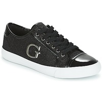 Shoes Women Low top trainers Guess ELLY Black