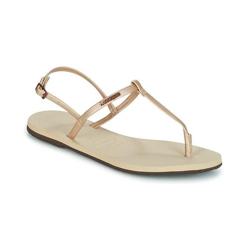 Shoes Women Sandals Havaianas YOU RIVIERA Beige