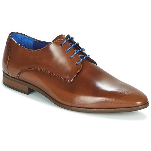 Shoes Men Derby shoes Azzaro VALMI Cognac