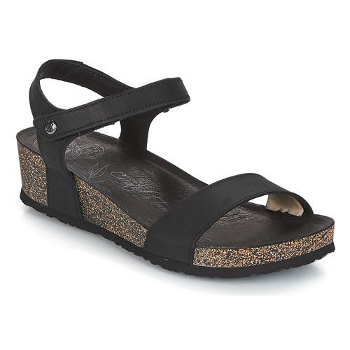 Shoes Women Sandals Panama Jack CAPRI Black