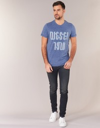 material Men Skinny jeans Diesel SLEENKER Blue / 0842q