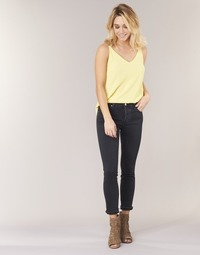 material Women straight jeans Diesel BABHILA Black / 84nx